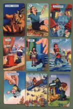 Collectable Vintage Cards game Gulliver's Travels